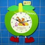 P/B Apple Clock